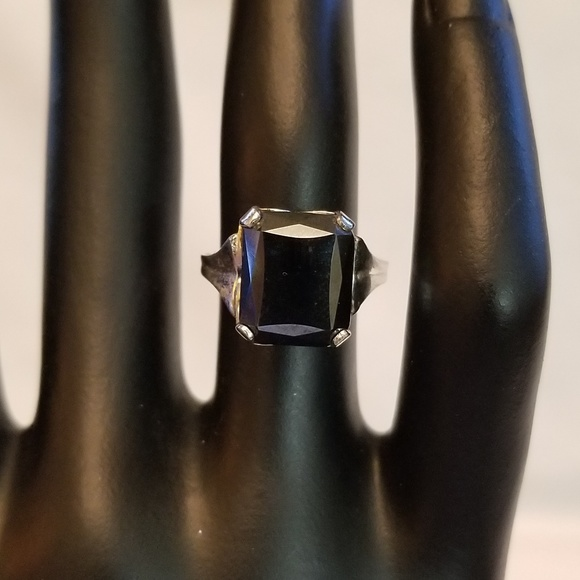Vintage Jewelry - Vintage Sterling Silver Fashion Ring